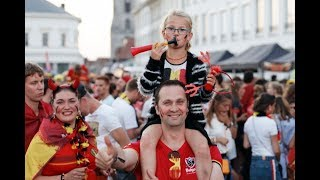 Belgium v Japan: Fans in Russia watch crucial World Cup match – live!