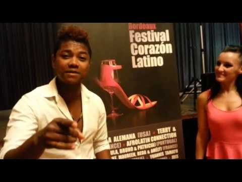 PROMOTION FESTIVAL CORAZON LATINO 2013 (20-22 SEPT 2013) FALCO Y SAMANTHA