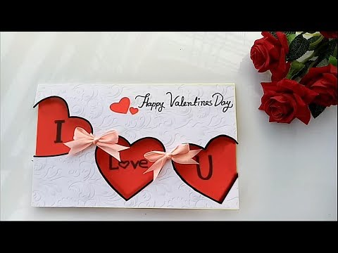 Handmade Valentine's Day Card/ How to Make a Love Card For Loved Ones
