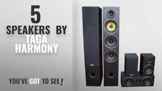 Top 10 Taga Harmony Speakers [2018]: Taga Harmony TAV-506 v.2 540W RMS 5.0-CH Home Cinema Speaker