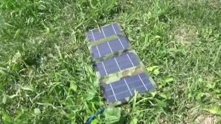Солнечная батарея SOLARIS-4-9-F Обзор + Тест