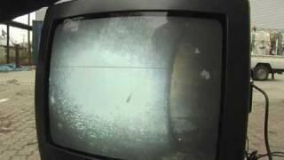 Drain cleaner go-devil camera - Rohr verstopft? Rohrreiniger mit Fernsehen und Kamera bei der Arbeit