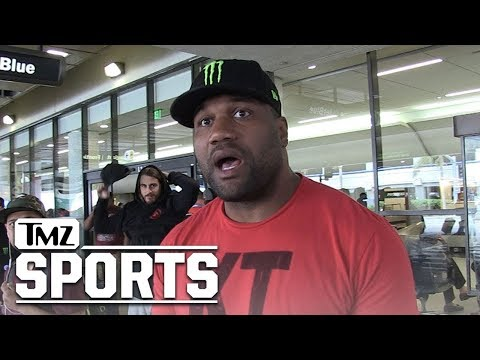 Rampage Jackson Blasts 50 Cent, You're Not a Real Fighter! | TMZ Sports