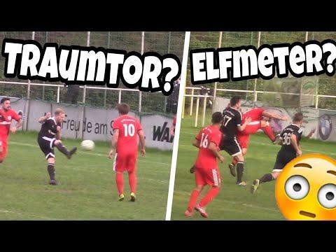 Traumtor? Heftiges Fussball Spiel ft. Tore, Elfmeter & Skills!🔥💪