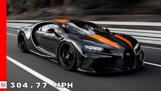 Bugatti Chiron Hits 304.77 MPH