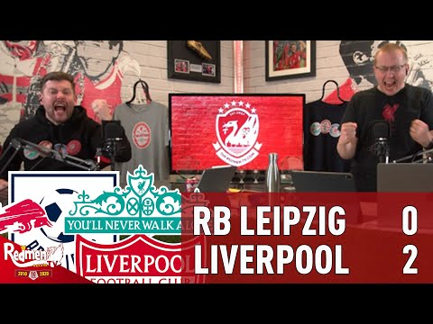 Salah & Mane Secure Crucial Win v Leipzig! | RB Leipzig 0-2 Liverpool | Liverpool Fan Goal Reactions