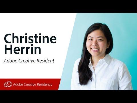 Christine Herrin - Adobe Creative Residents - Live on Twitch.tv/adobe