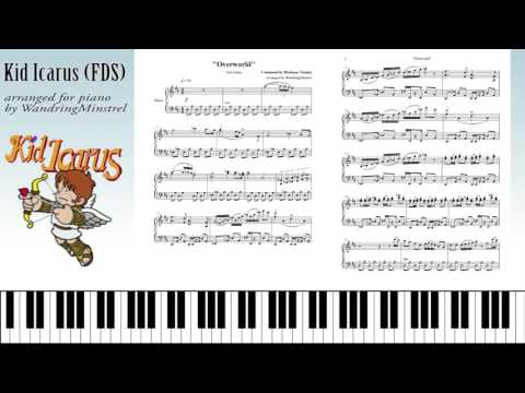 Kid Icarus  (光神話 パルテナの鏡) OST - Arranged for Piano