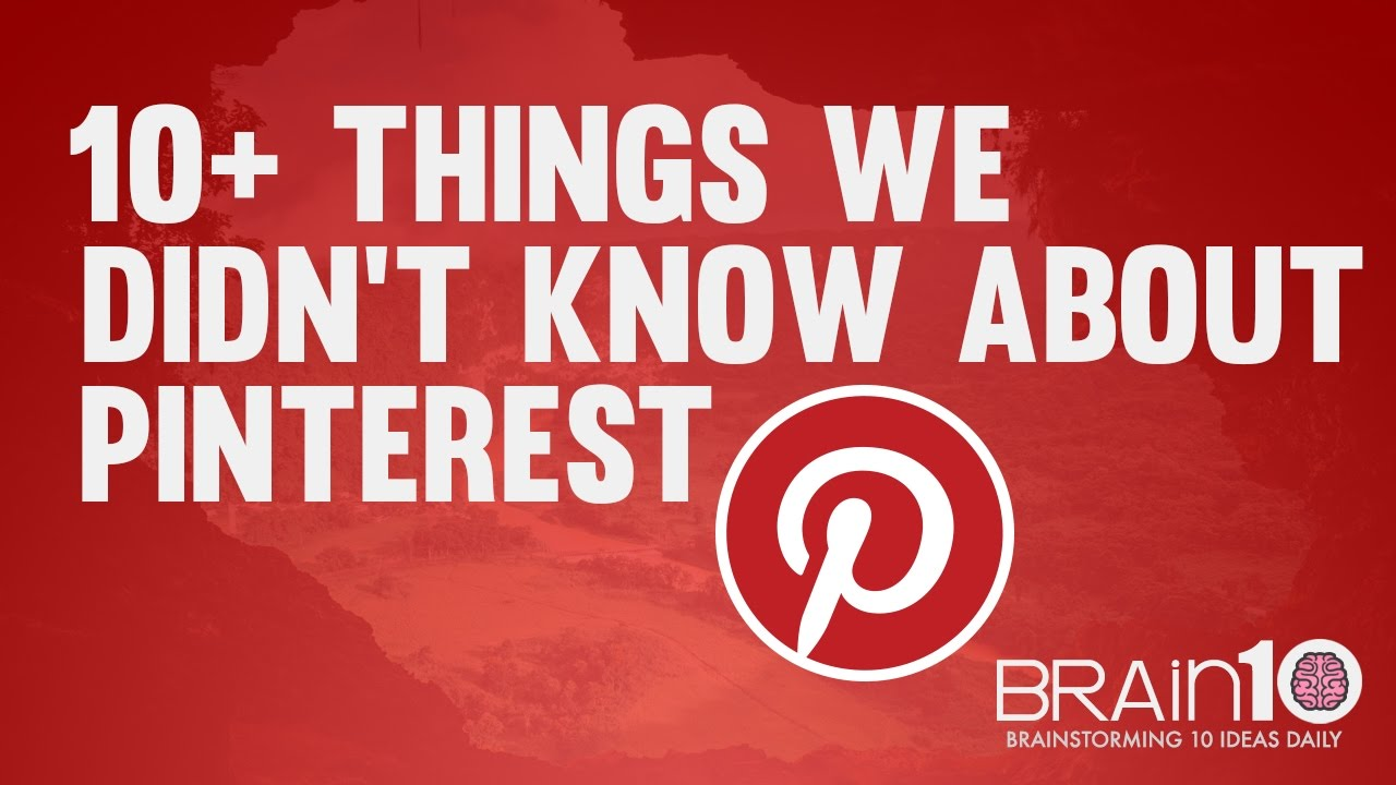 Some things we didn't know about Pinterest