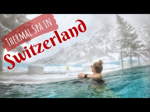 Leukerbad Thermal Spa In Switzerland