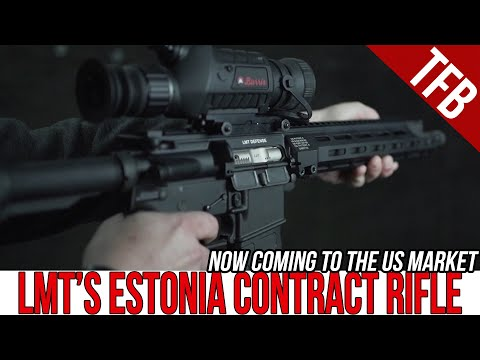 LMT's Estonian Military Contract Rifle #GunFest2021