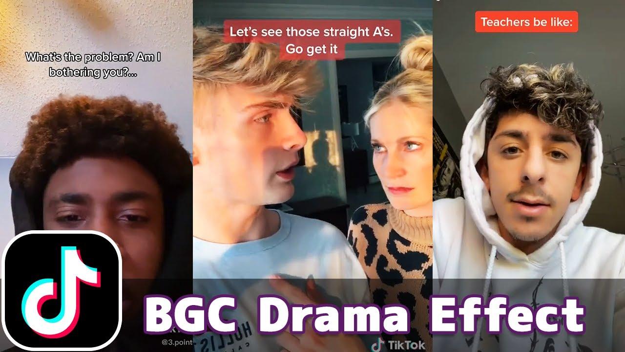 BGC Drama Effect   TikTok Compilation