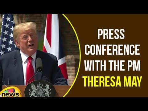 Trump Participates in a Joint Press Conference with the PM Theresa May | Trump Speech | Mango News