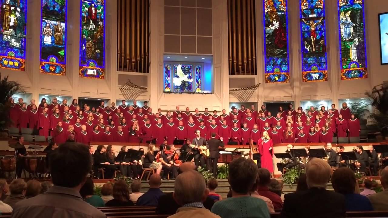 Hyde Park Baptist Church Choir Youtube