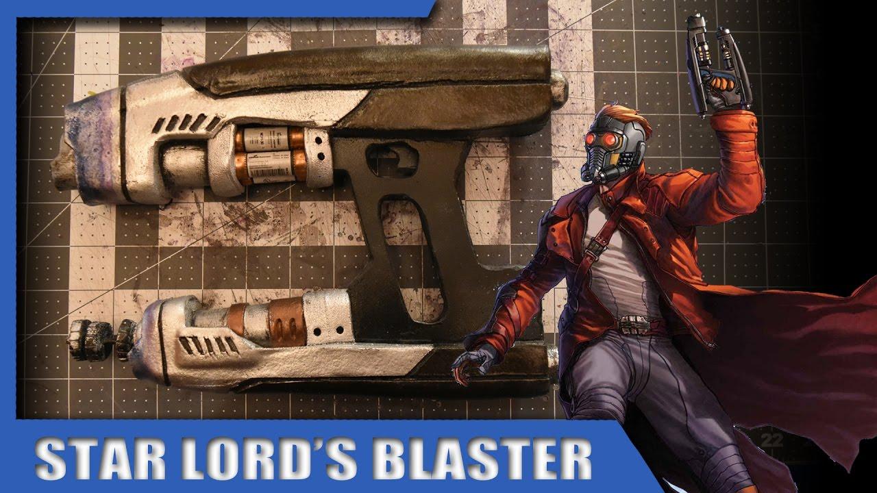 brandon s builds star lord s blaster diy youtube