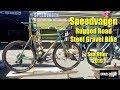 Speedvagen 650b Rugged Road Steel Gravel Bike + Bonus Road Bike: SOC 2019
