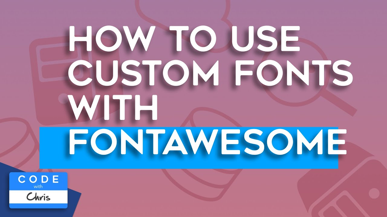 iOS Bento Minute: How to Use Custom Fonts with FontAwesome in your iOS App