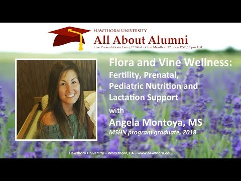 AAA: Fertility, Prenatal, Pediatric Nutrition and Lactation Support with Angela Montoya, MS