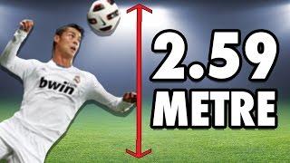 Ronaldo Kadar Zıplayıp Topa Kafa Atmayı Denedik