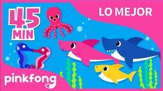 Bajo el Mar y 34 canciones más | Lo Mejor | +Recopilación | Pinkfong Canciones Infantiles