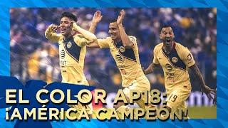 COLOR América Campeón Apertura 2018