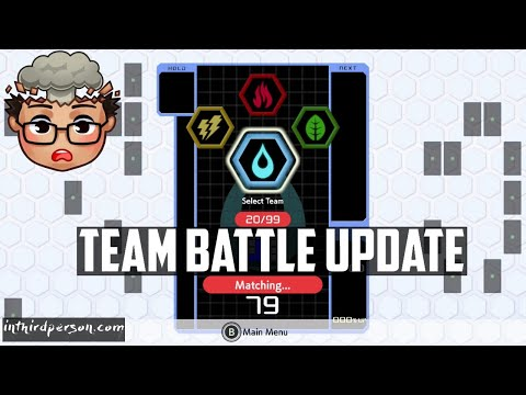 Team Battle, Password Match, And More! Let's Look At The Latest Tetris 99 Update!