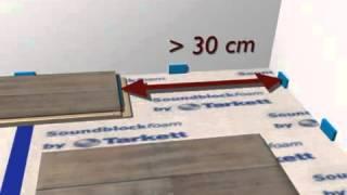 Укладка ламината. Видео инструкция.(Укладка ламината Tarkett (Таркетт) с замком 2-Lock видео. Подробную инструкцию по укладке ламината можно так же..., 2013-05-11T19:16:56.000Z)