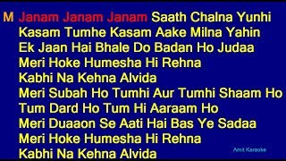 Download Mp3 Janam Janam Janam Saath Chalna Yunhi - Arijit Singh Antara Mitra Duet Hindi Full