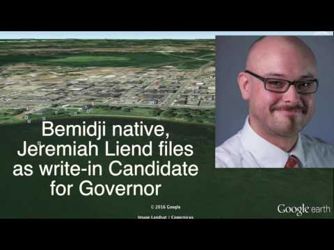 Bemidji Man Files As Write-In Candidate For Governor