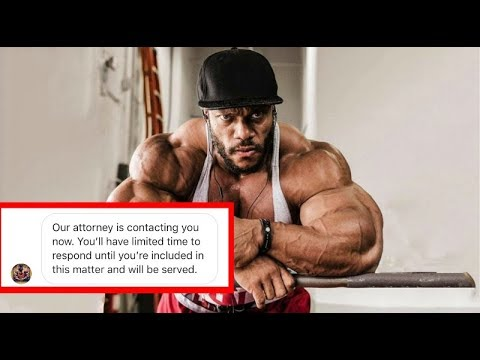 Phil Heath Threatens to Sue Me.