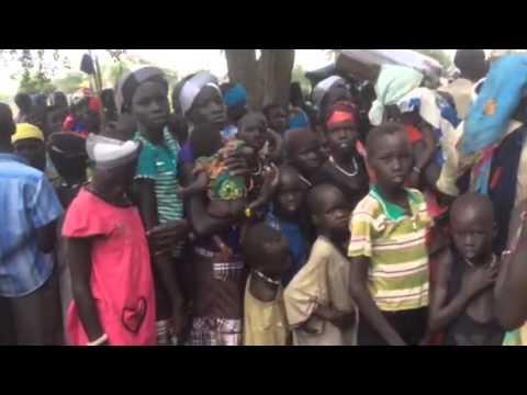 Africa ExPress a Kangul Sud Sudan Massimo Alberizzi
