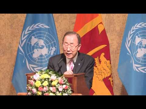"""UN Secretary-General's remarks """"Sustaining Peace – Achieving the Sustainable Development Goals"""""""