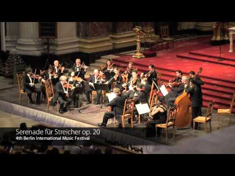 Elgar Serenade for Strings in E minor, Op 20 I, II Mov.  Berliner Mendelssohn kammerorchester