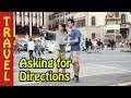 asking for directions in english conversation - english travel vocabulary planning a trip