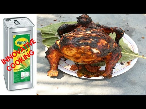 Thumbnail: WOW!!! INNOVATIVE COOKING | FULL CHICKEN TANDOORI WITHOUT OVEN | VILLAGE FOOD
