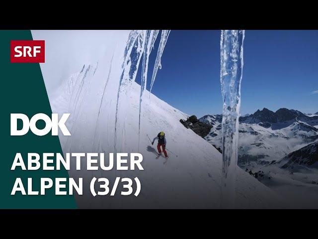 Skitour des Lebens – Haute Route von Chamonix nach Zermatt   Abenteuer Alpen (3/3)   Doku   SRF Dok