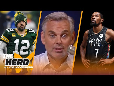 Aaron Rodgers should be wary of Denver, talks Kevin Durant's legacy — Colin Cowherd | THE HERD