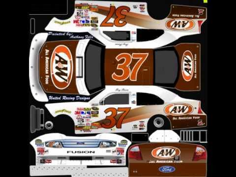 Some More New 2010 NASCAR Templates