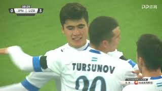 Japan U23 - Uzbekistan U23 - 0:4 HD full highlights 19-01-18 all goals