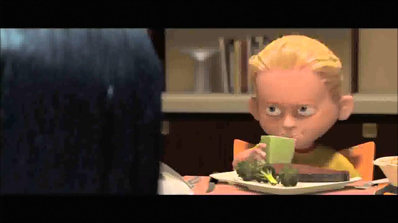 meet the parents dinner scene incredibles