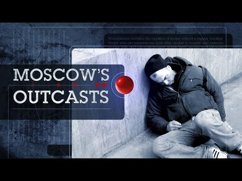 Moscow's Outcasts (Trailer) Life of homeless bomzh and bums in Moscow