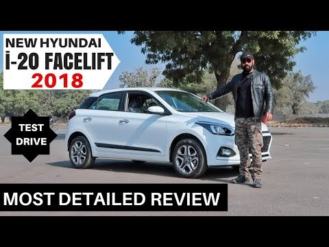 Hyundai New i20 Facelift 2018 Most Detailed Review, Test Drive, Honest Opinion