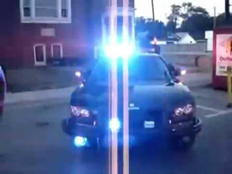 Hip Hop Police Car