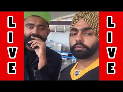 Amrit Maan Live with Ammy Virk -- kaali...