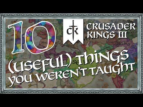 CK3 - 10 (Useful) Things the Tutorial DIDN'T Teach You!
