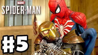 Spider-Man - PS4 Gameplay Walkthrough Part 5 - Shocker Boss Fight!