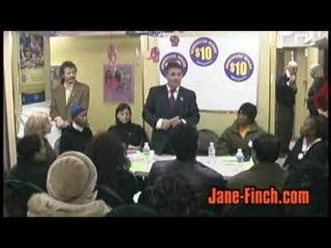 $10 Minimum Wage Campaign at Jane-Finch