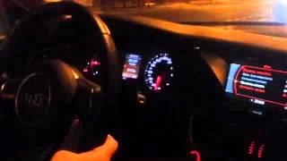 Audi A4 B8 3.0 TDI quattro разгон 0-100 км/ч за 6,7 секунд, Ходынка, №1(, 2016-02-18T09:02:13.000Z)