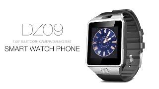 "DZ09 1.56"" Bluetooth Camera Dialing SMS Smart Watch Phone"