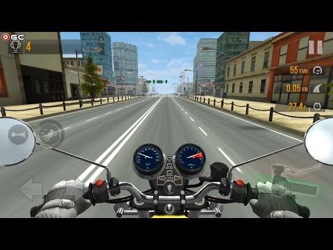 Traffic Rider - Motorbike City TrafficRacing Games - Android gameplay FHD #2